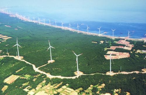 潍坊国电滨海风电场